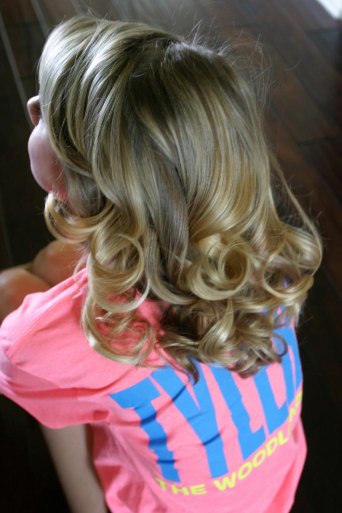 Messy Bun with Braid Hair Tutorial: Step One