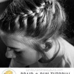 Dance Hair: Messy Bun & Braid Tutorial