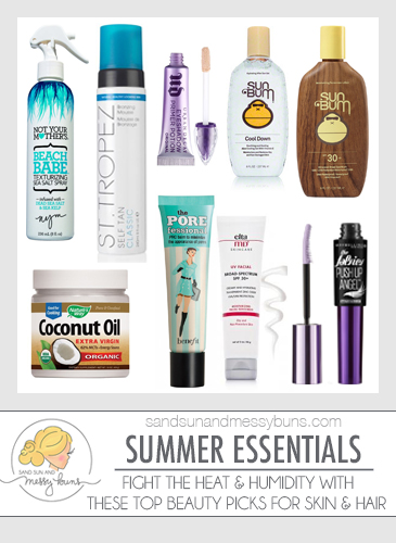 Fight the summer heat and humidity with these beauty blogger recommended products for skin & hair