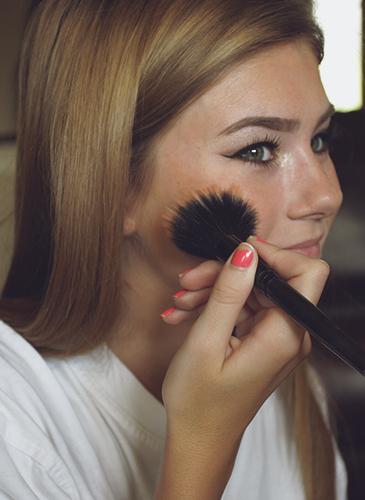 Allison Banks In Beauty Buns