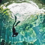 WHAT IT'S LIKE TO SWIM IN A CENOTE