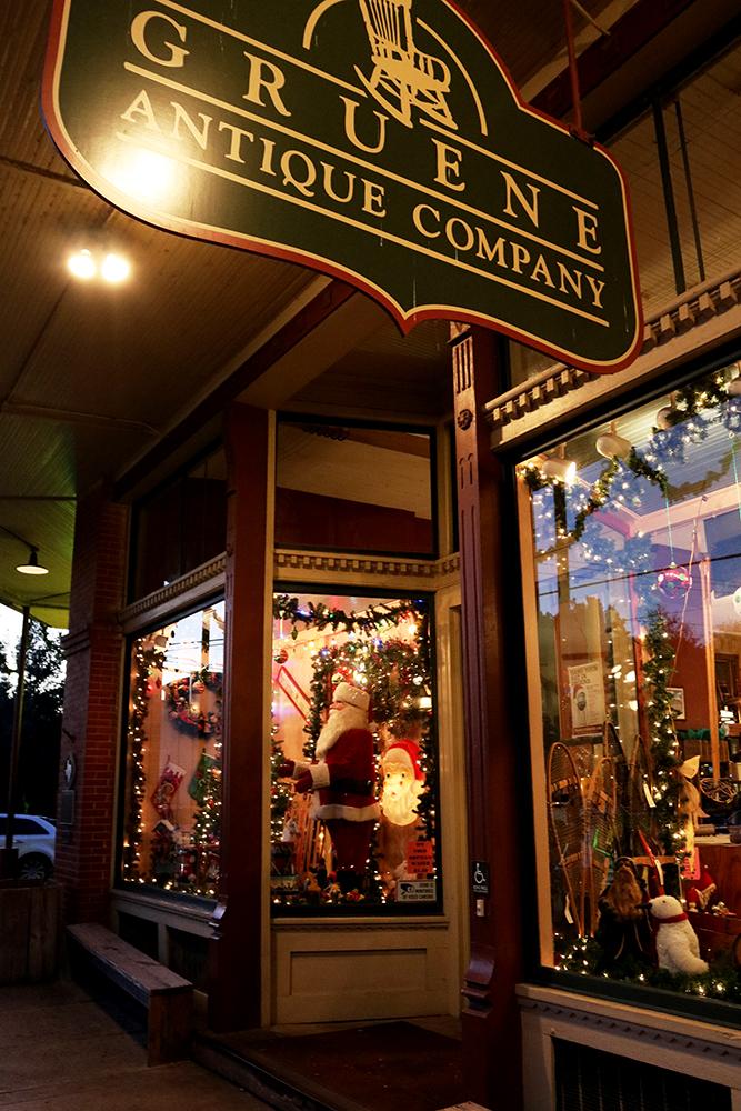 Holiday in Gruene TX - Gruene Antique Store