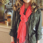 FALL FASHION: JEANS, STRIPED TEES, AND CAMO
