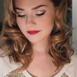 Holiday Retro-Glam Makeup Tutorial