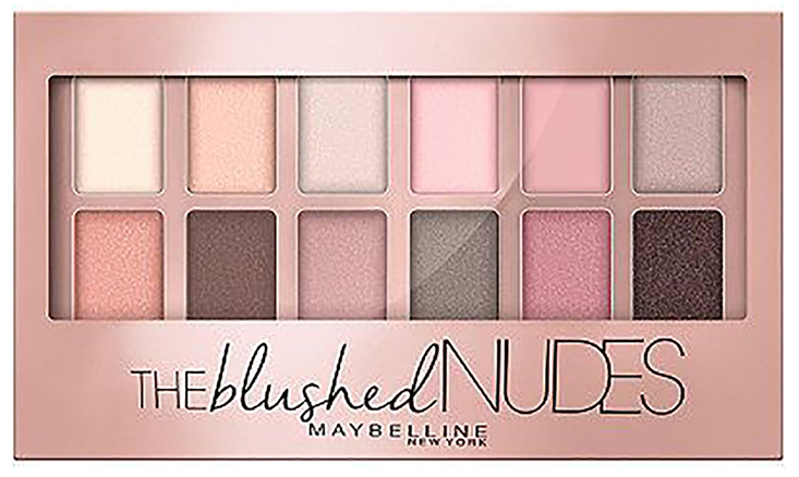 "Maybelline's ""The Blushed Nudes"" palette is one of the best neutral eyeshadow palettes for teen girls or beginners. #teenmakeup #eyeshadowpalette #bestpalette #neutralpalette"