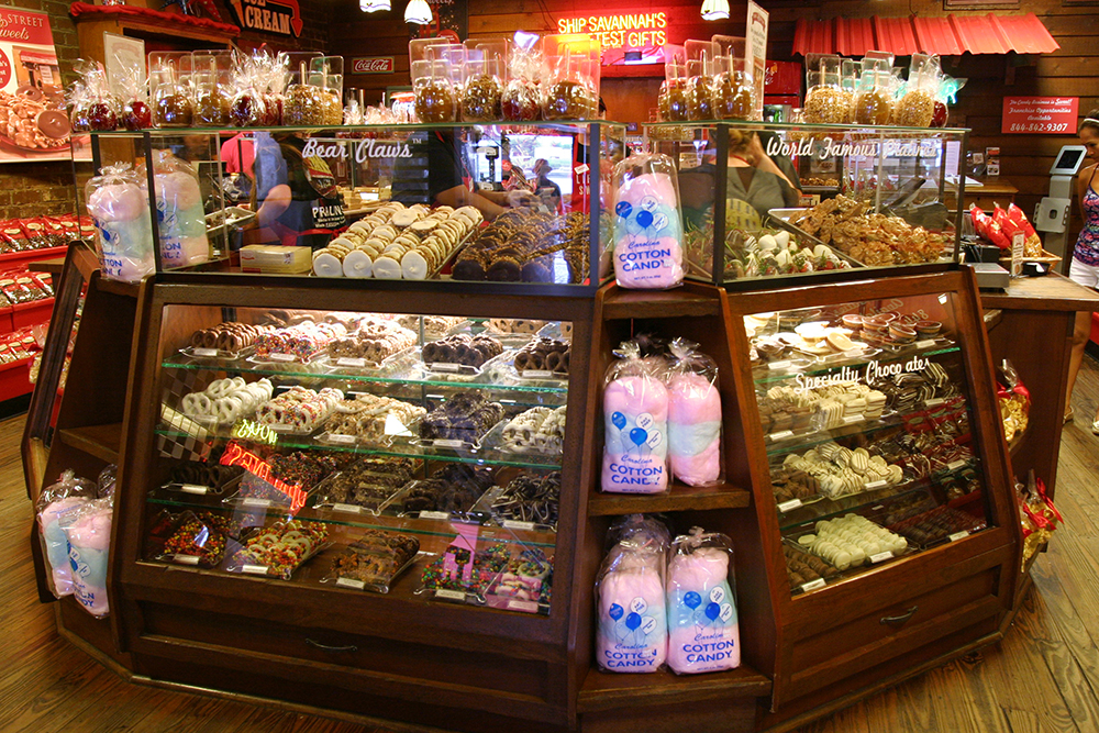Savannah's Can't-Miss Candy Shop: River Street Sweets