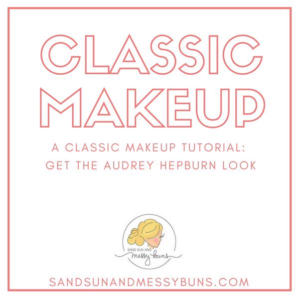 Classic Makeup: tips for getting the Audrey Hepburn makeup look