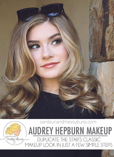Classic Makeup Tutorial for Audrey Hepburn makeup