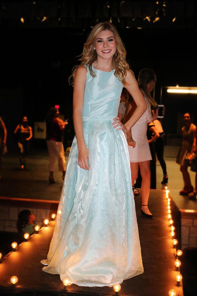 The prom dress I designed for AP Fashion design class.