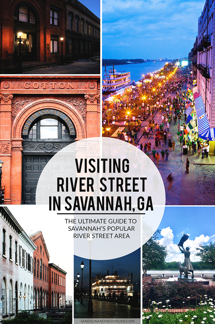 Definitely pinning! Complete guide to all the must-see spots on River Street, Savannah GA.