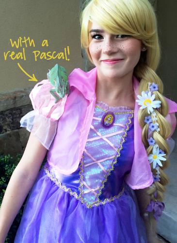 Rapunzel Tangled Costume Tutorial