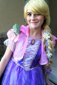 Semi Diy Tangled Rapunzel Costume Tutorial Sand Sun Messy Buns