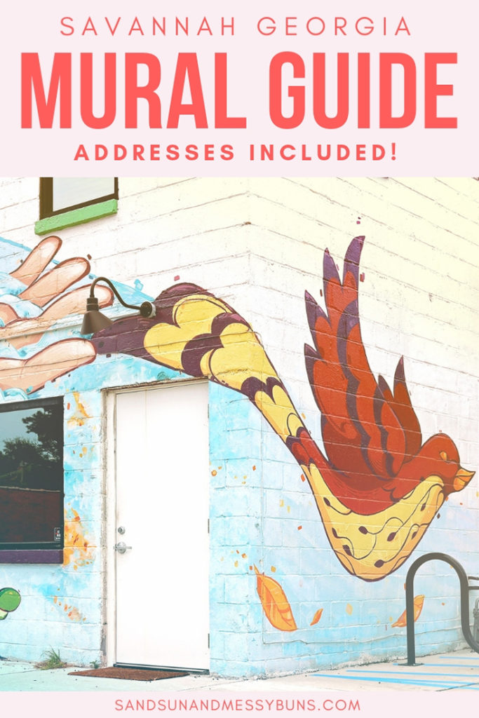 Instagram Addicts...here's a handy list of the best murals in Savannah. Get snappin' :) #savannah #visitsavannah