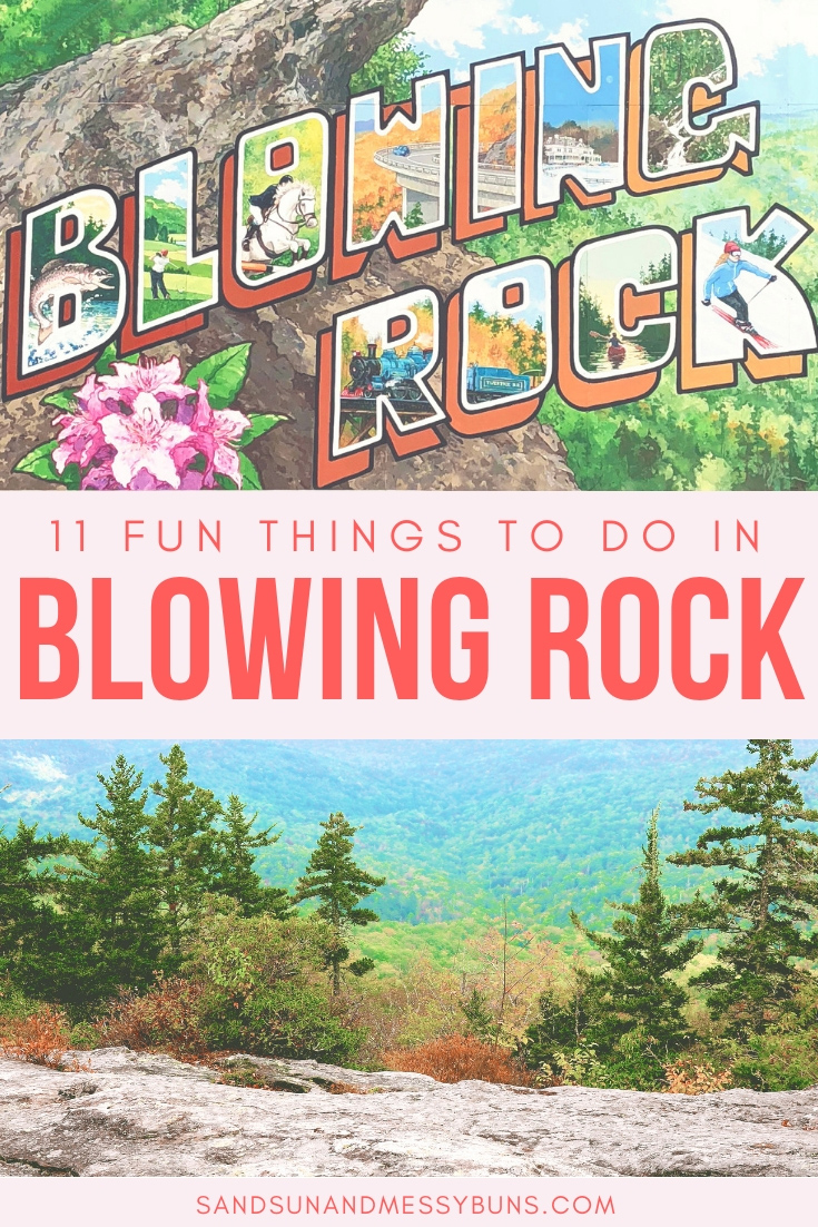 This really is the ultimate list of things to do in Blowing Rock NC! It lists the best hiking trails in Blowing Rock, the top restaurants in Blowing Rock, things to do with kids, all of the cutest boutiques, and the perfect weekend itinerary for Blowing Rock NC! #blowingrock #blowingrocknc #visitnc #itinerary #northcarolina #blueridgemountains #blueridgeparkway #hiking #vacation #wanderlust #vacationideas