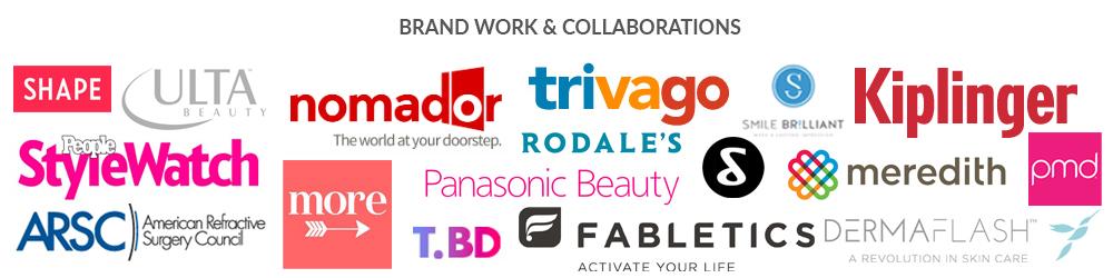 Logos of American brands