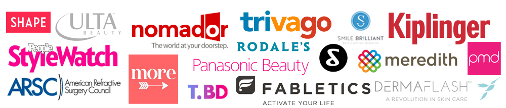 Logos from brands SS&MB has partnered with.
